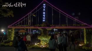 [포토] 예산장터 삼국축제 야경