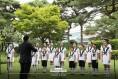 청와대 찾은 '논산파랑새합창단'...사랑과 희망을 노래하다