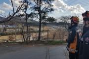 논산소방서, 드론을 활용한 산불 화재 예방 목표 달성
